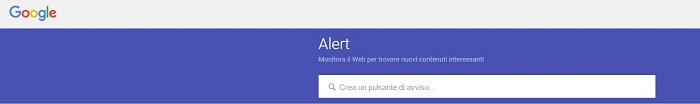 google alert reputazione online