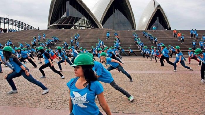 Flash mob aziendale