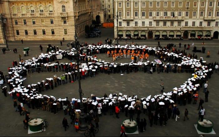 flash mob peace