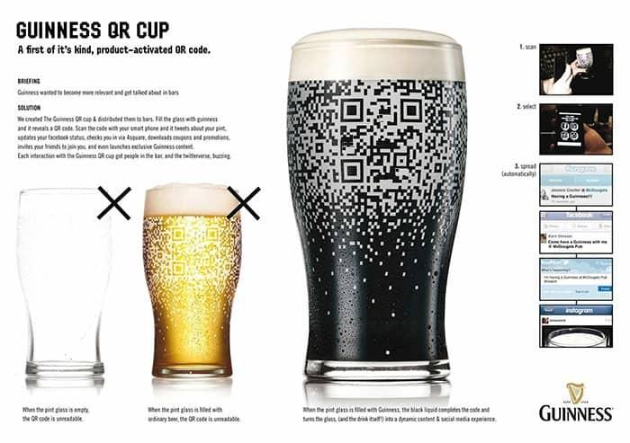 Guinness qr code