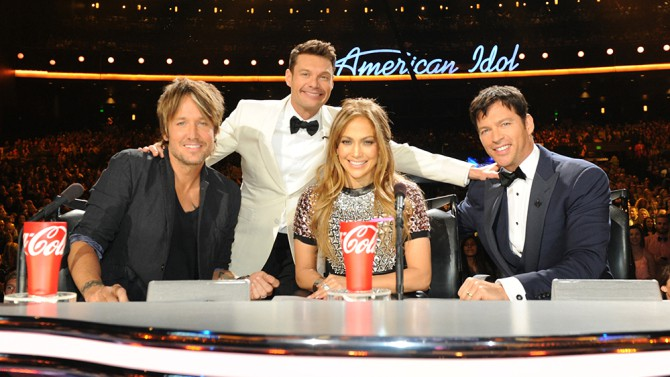Product placement coca cola american idol