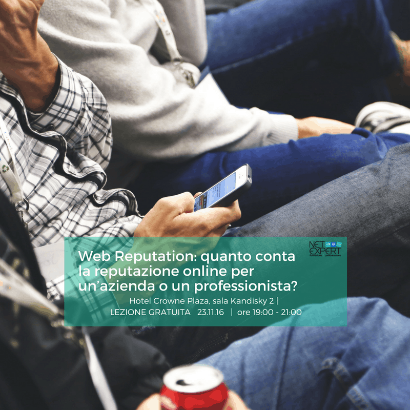 corso web reputation net expert