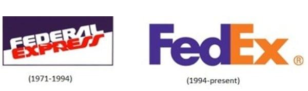 rebranding fedex