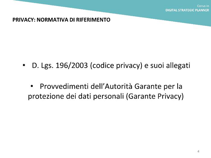 Privacy web
