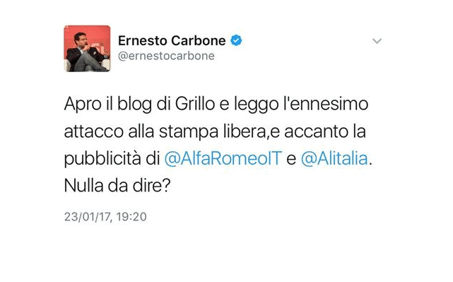 Epic fail Carbone Ernesto