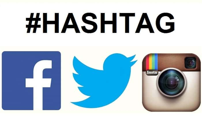 hashtag nei social network