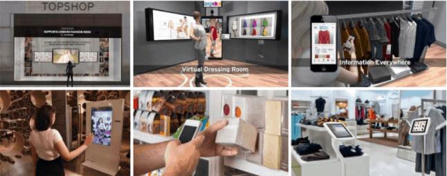 tecnologie nei punti vendita fisici