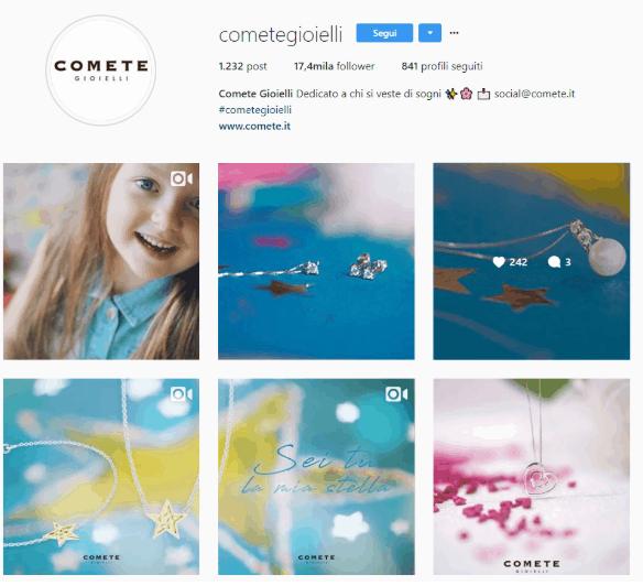 comete instagram festa della mamma 2018