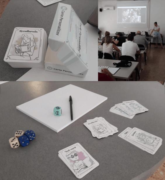 storytelling carte dadi